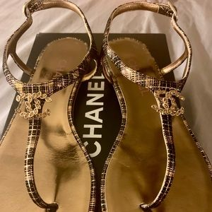 Chanel Thong Sandals